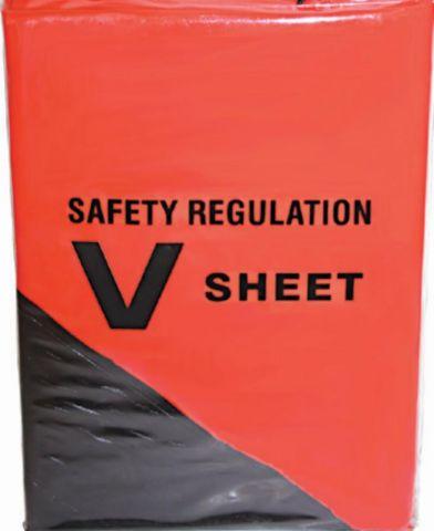 """Safety  """"V""""  Sheets"""